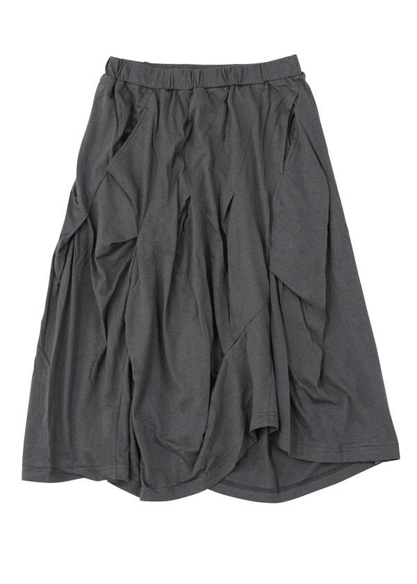 【SALE】メルシーボークー、 / S B:ひかえめてろてん(S) / スカート カーキ