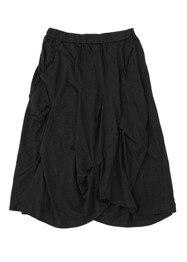 【SALE】メルシーボークー、 / S B:ひかえめてろてん(S) / スカート 黒