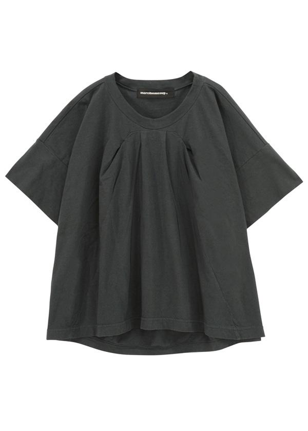 メルシーボークー、 / B:草木染メルティー / Tシャツ 黒【ファッション・アパレル レディースシャツ】【mercibeaucoup,(メルシーボークー)】/MB73JK0782601