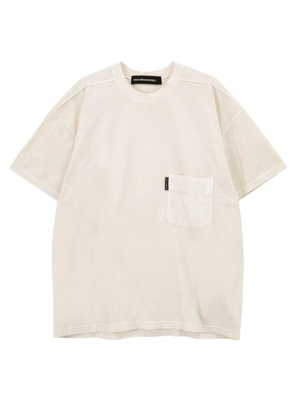 メルシーボークー、 / B:草木染メルティー / Tシャツ オフ白【ファッション・アパレル レディースシャツ】【mercibeaucoup,(メルシーボークー)】/MB73JK9350203