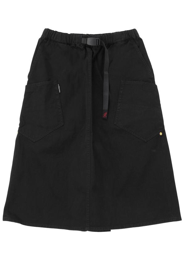 【SALE】メルシーボークー、 / S 【Web限定】 ひらっとGRAMICCI / スカート 黒