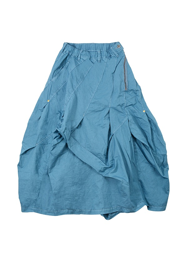 B:かるツイル / スカート ブルー