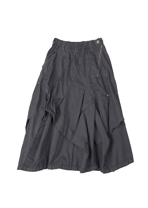 B:かるツイル / スカート 黒
