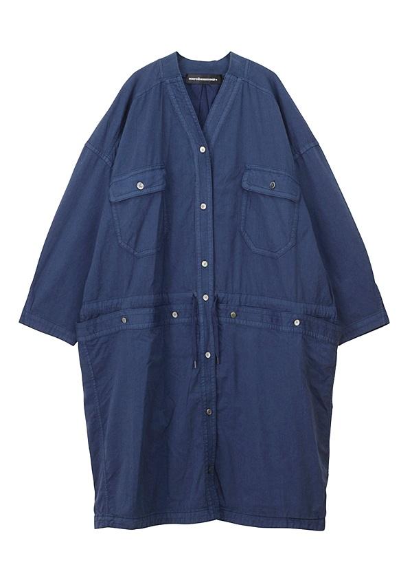 【SALE】メルシーボークー、 / S B:てろシャツ / ワンピース ネイビー