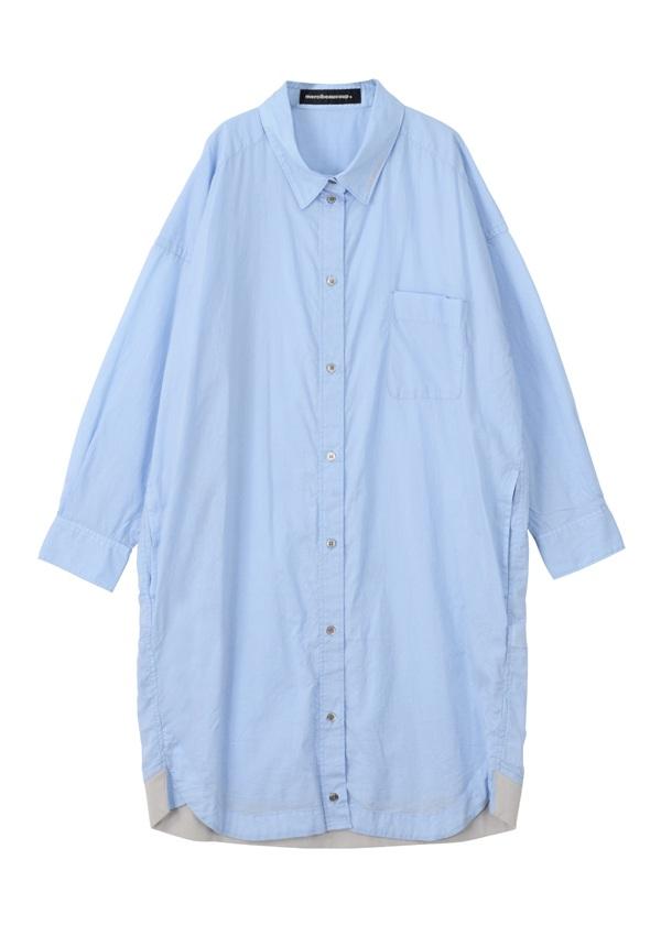 B:メンシャツ ブルー