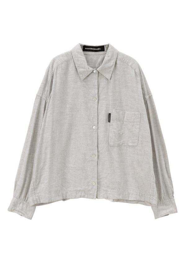 メルシーボークー、 / B:ビキモウシャツ / シャツ オフ白