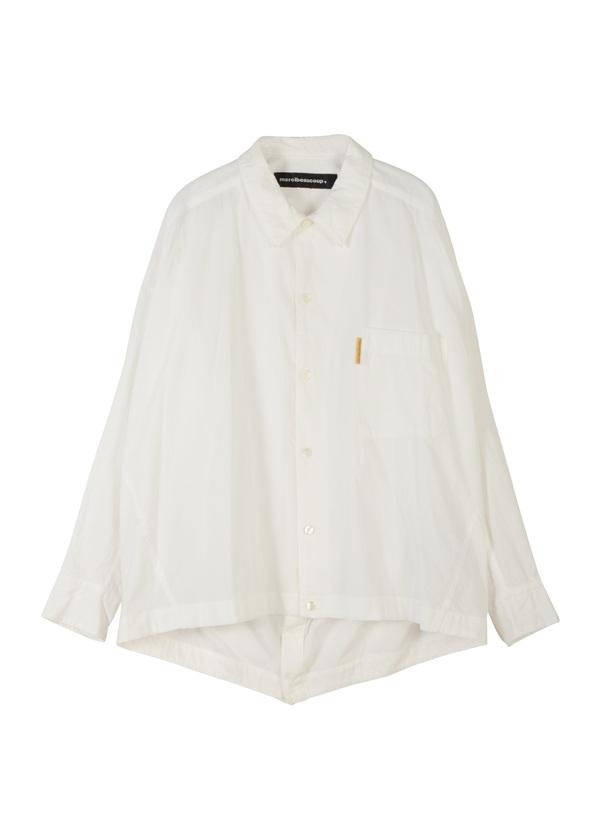 【SALE】メルシーボークー、 / S B:メルシャツ / ブラウス 白