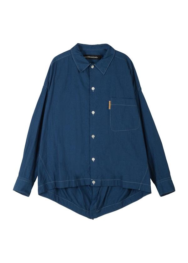 【SALE】メルシーボークー、 / S B:メルシャツ / ブラウス ブルー