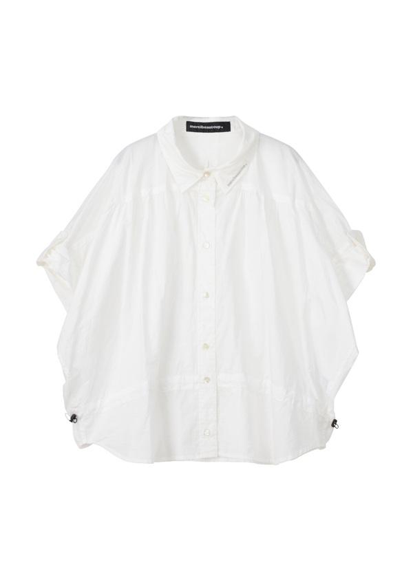 メルシーボークー、 / B:メンシャツ / シャツ 白