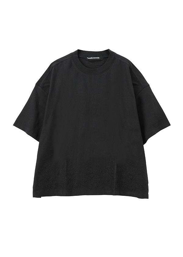 B:ししゅうソー / カットソー 黒