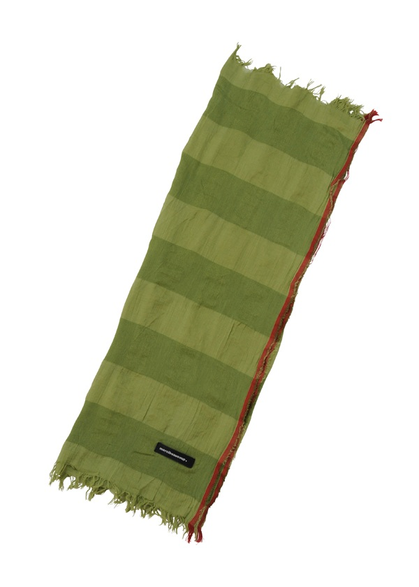 草木染メルストール / ストール ライトグリーン