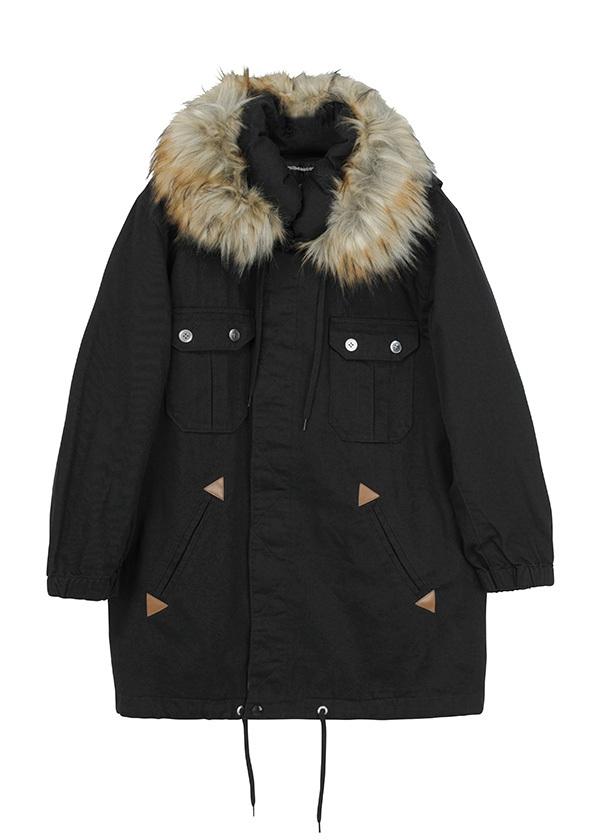 B:メルモッズ / コート 黒