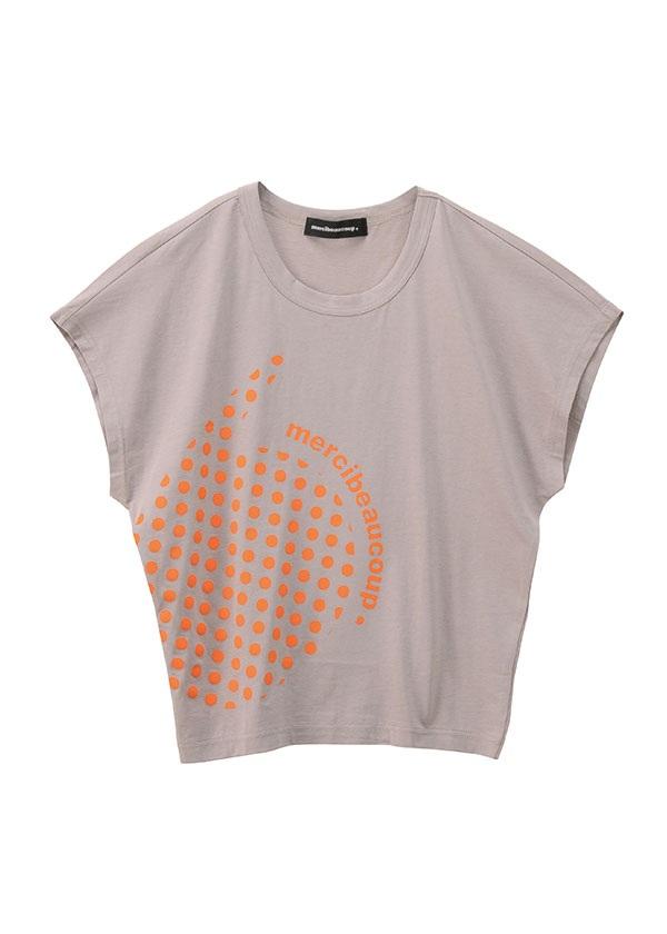 【SALE】メルシーボークー、 / S B:カンマティー / Tシャツ グレー