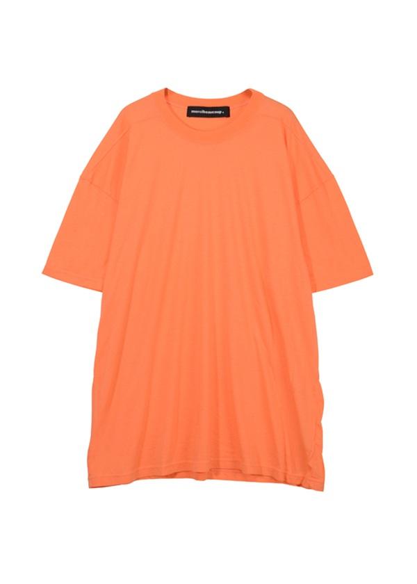 【SALE】メルシーボークー、 / S B:てろてん / カットソー オレンジ / レンガ