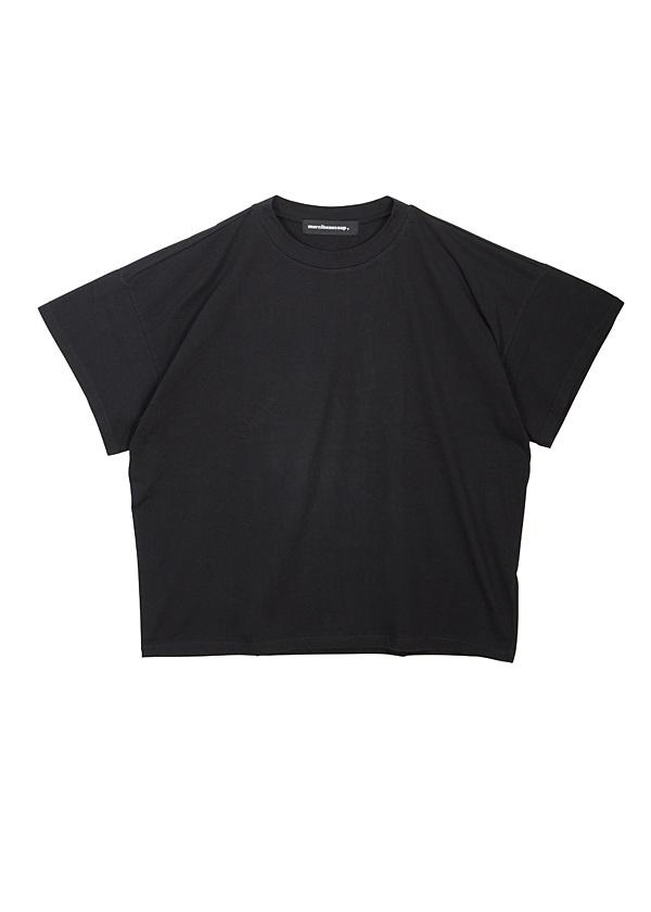【SALE】メルシーボークー、 / S B:草木染メルティー / カットソー 黒