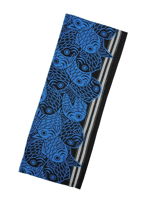 メルシーボークー、 / 鯛ガラストール / ストール ブルー