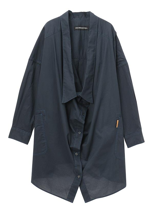メルシーボークー、 / B:シャツシャツ / シャツ ネイビー