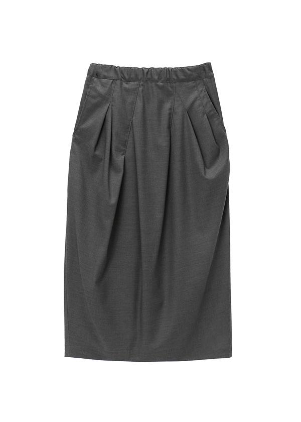 メルシーボークー、 / B:トロツイル / スカート チャコールグレー
