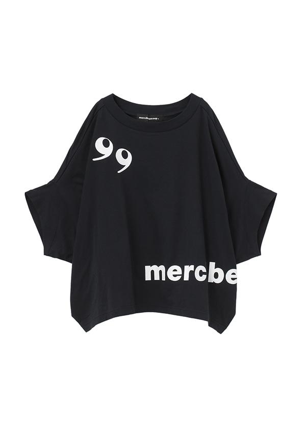 メルシーボークー、 / B:カンマちゃん / カットソー 黒