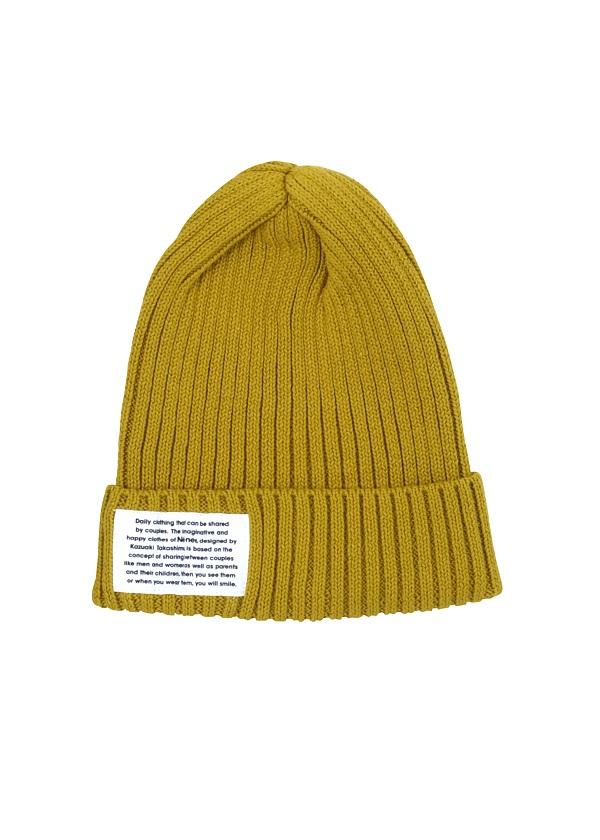 ネ・ネット / GF ニット帽 / 帽子 イエロー