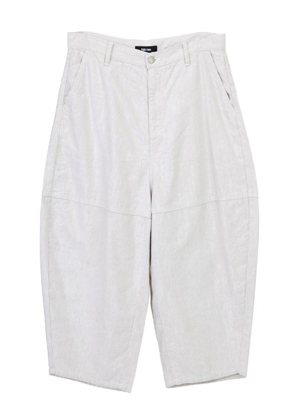 【SALE】ネ・ネット / PD メンズ カラーデニム / パンツ オフ白