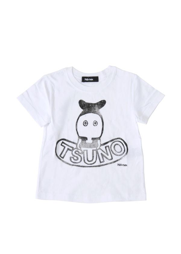 【SALE】ネ・ネット / PD キッズ つのださん T / Tシャツ 白