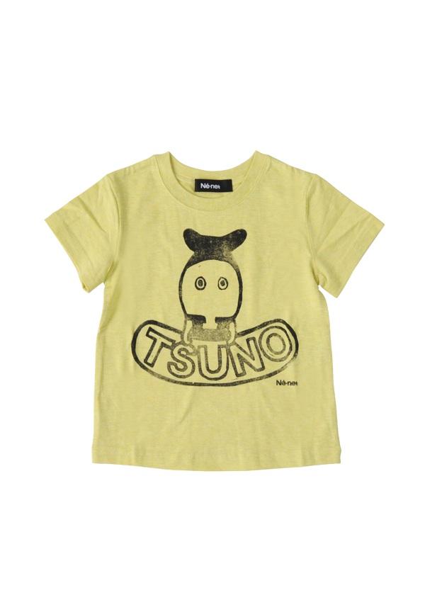 【SALE】ネ・ネット / PD キッズ つのださん T / Tシャツ イエロー