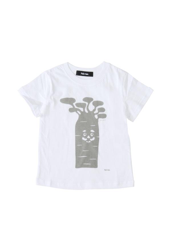 【SALE】ネ・ネット / PD キッズ BAOBAB T / Tシャツ 白
