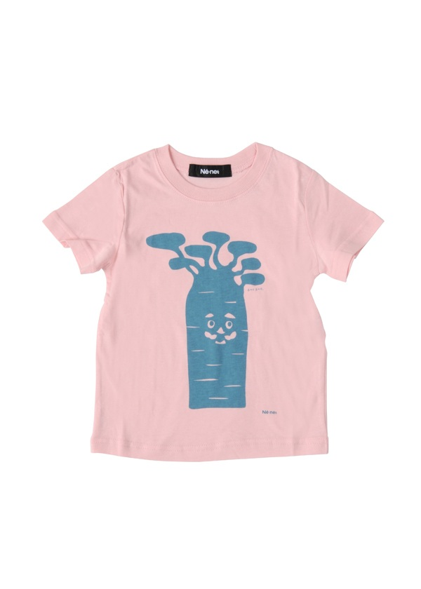 【SALE】ネ・ネット / PD キッズ BAOBAB T / Tシャツ ライトピンク