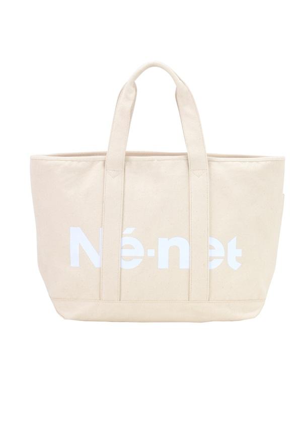 【SALE】ネ・ネット / S キャンバスバッグ / トートバッグ オフ白
