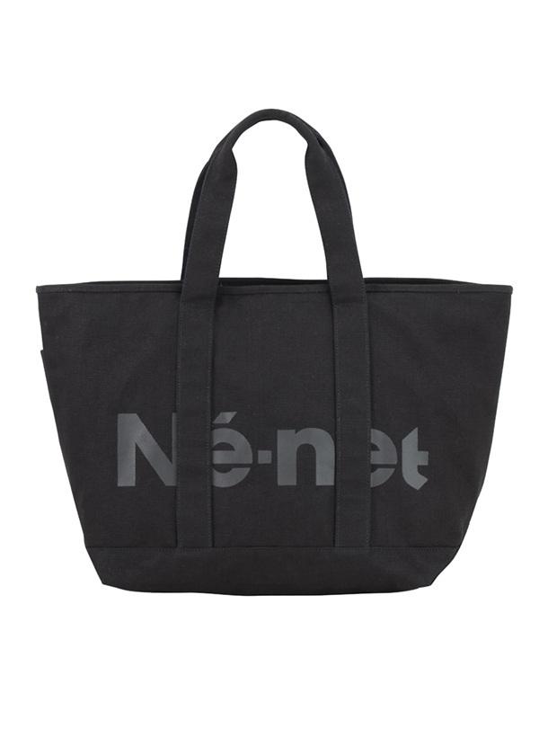 【SALE】ネ・ネット / S キャンバスバッグ / トートバッグ 黒