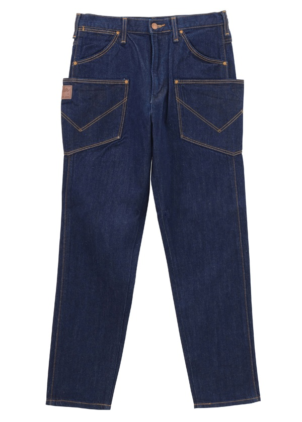 メンズ Wrangler DENIM PANTS ネイビー
