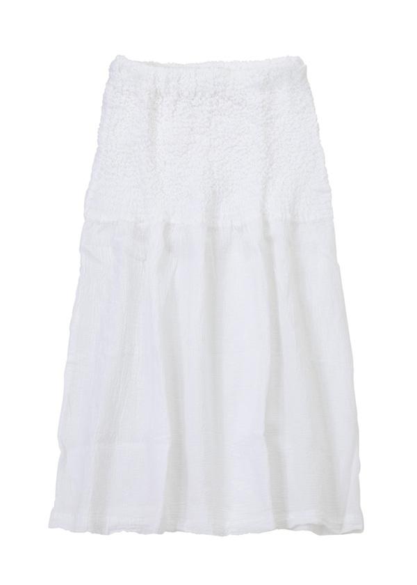 【SALE】ネ・ネット / S tissue / スカート 白