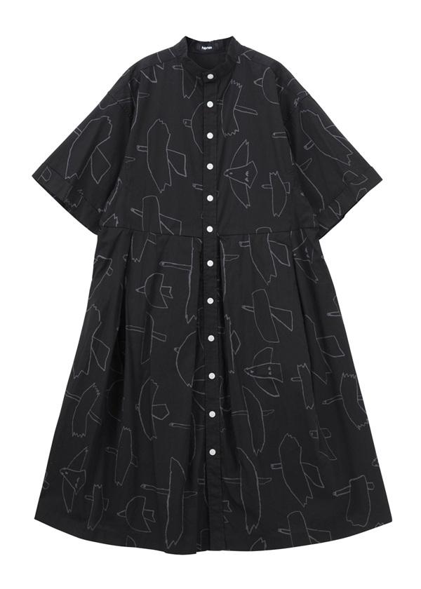 はばたきシャツ 黒