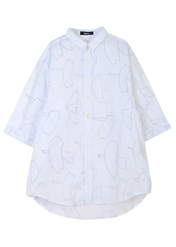 はばたきシャツ