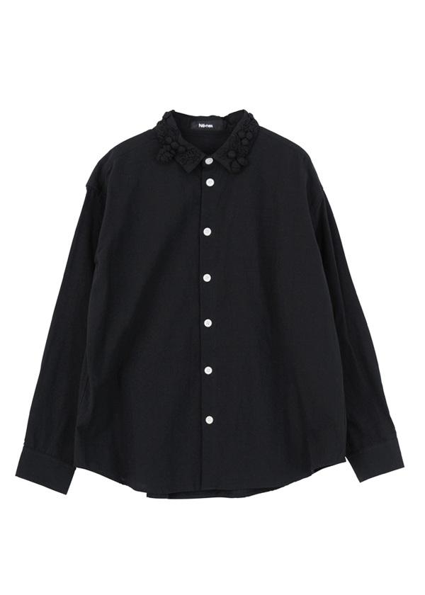 ネ・ネット / どんぐりダンガリー / シャツ 黒【ファッション・アパレル レディースシャツ】【ネ・ネット にゃー】/NE73FJ0202602