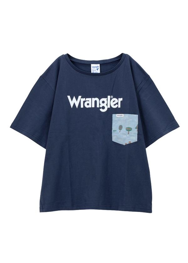 ネ・ネット / メンズ Wrangler TSHIRTS / Tシャツ ネイビー【ファッション・アパレル メンズトップス】【ネ・ネット にゃー】/NE73JK0131303