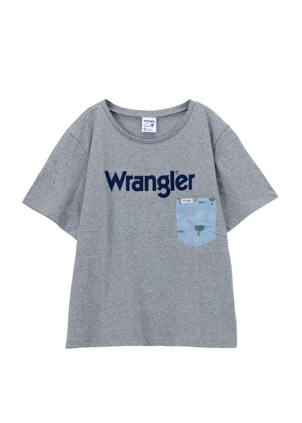 Wrangler TSHIRTS グレー