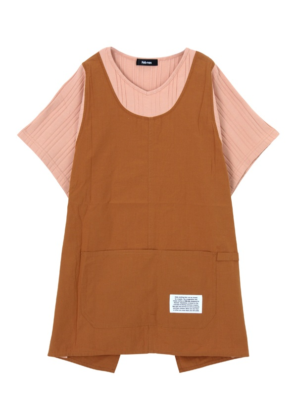 ネ・ネット / フィッシャーマン T / カットソー ピンク【ファッション・アパレル レディースシャツ】【ネ・ネット にゃー】/NE73JT9201802