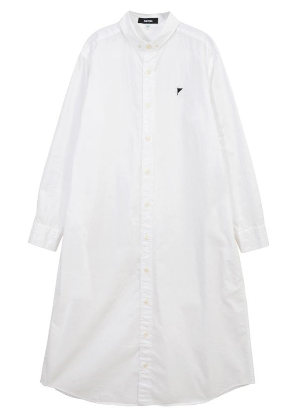 【SALE】ネ・ネット / S フラッグシャツ / ワンピース 白