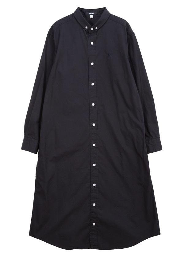 【SALE】ネ・ネット / S フラッグシャツ / ワンピース ネイビー