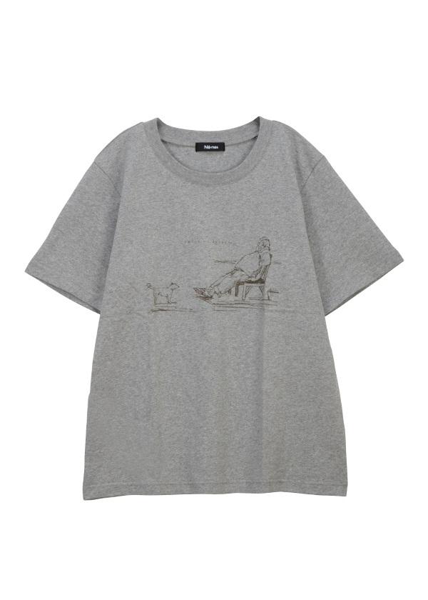 【SALE】ネ・ネット / S 1mile T / Tシャツ グレー