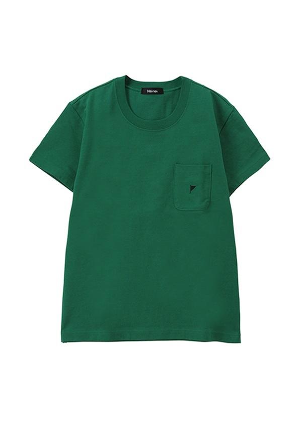 ネ・ネット / 【Web限定】 フラッグ T / Tシャツ グリーン
