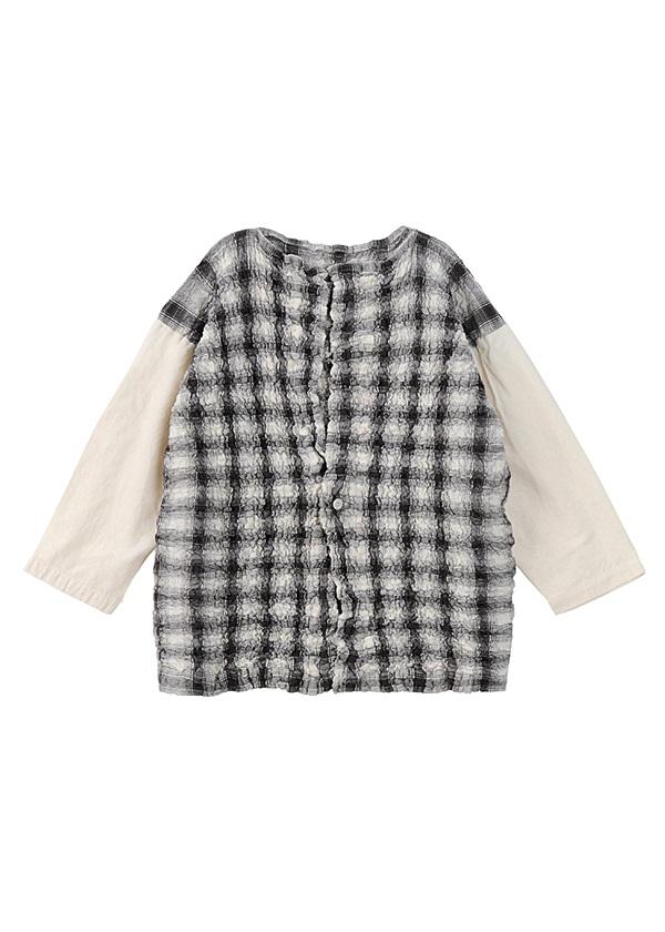 ネ・ネット / tissueオンブレー / 羽織り オフ白