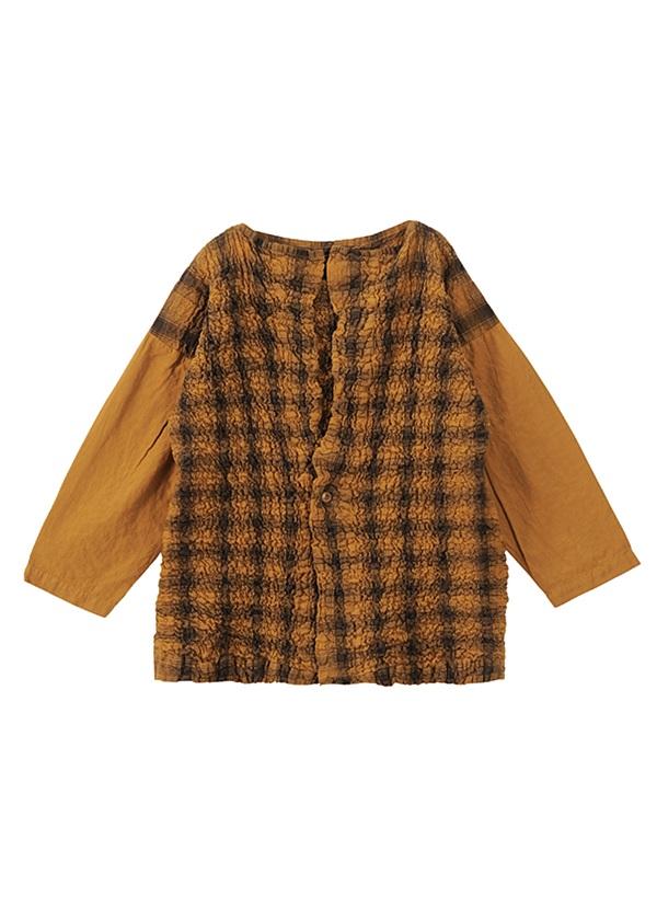 ネ・ネット / tissueオンブレー / 羽織り キャメル