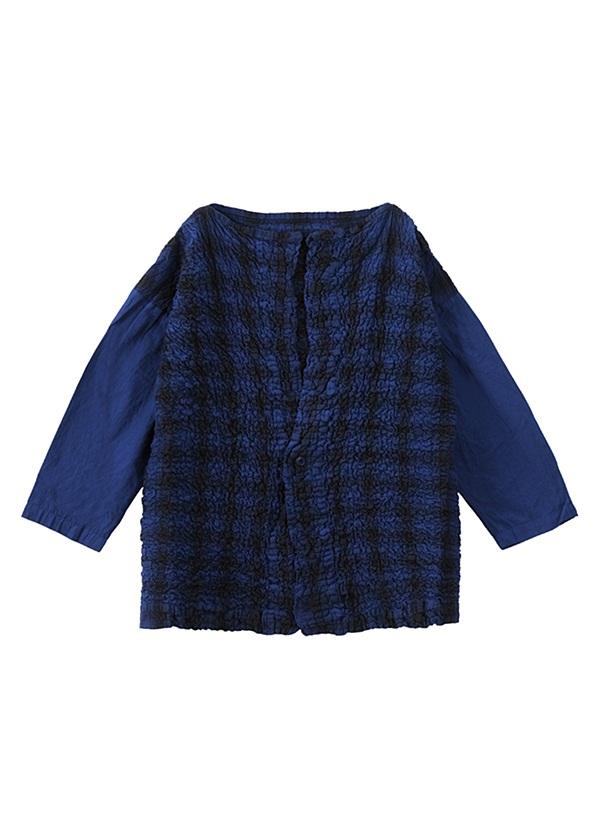 ネ・ネット / tissueオンブレー / 羽織り ブルー