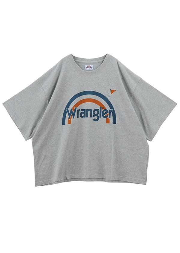 Wrangler BIG TSHIRTS / Tシャツ シルバーグレー
