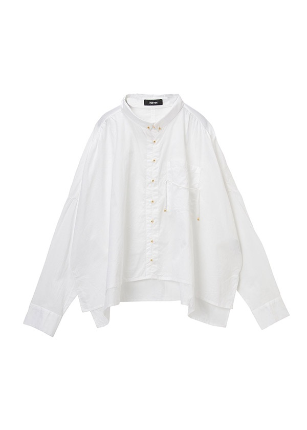 ベルボタンシャツ