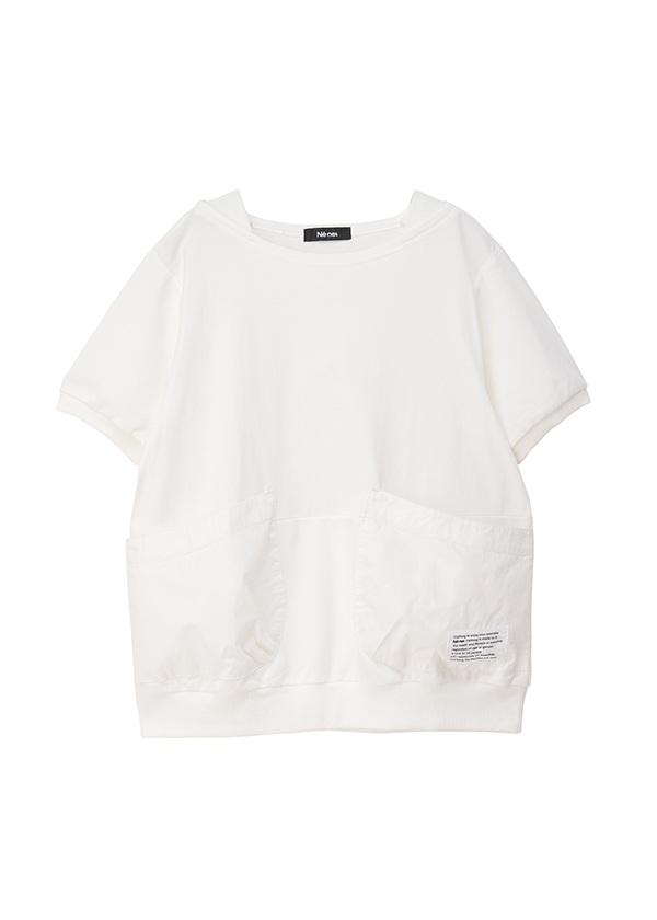 ネ・ネット / ポケッT / Tシャツ 白