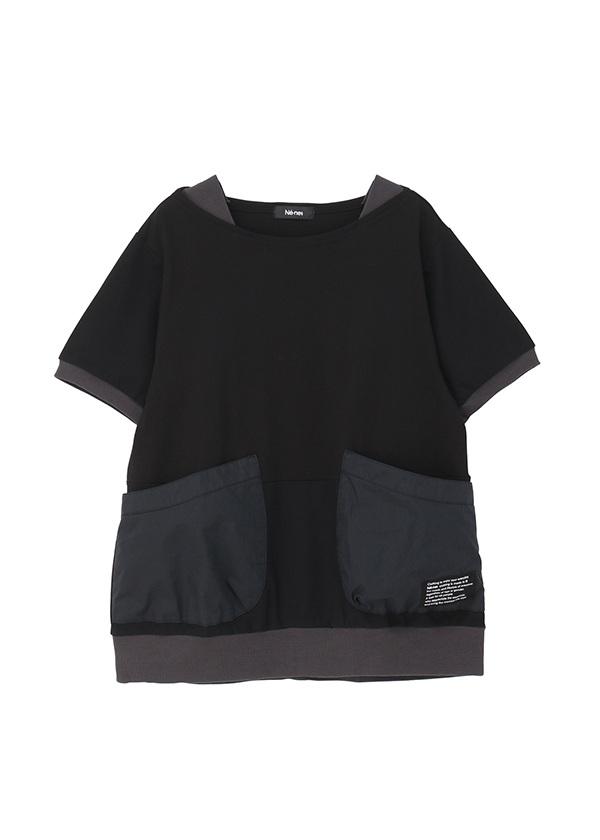 ネ・ネット / ポケッT / Tシャツ 黒